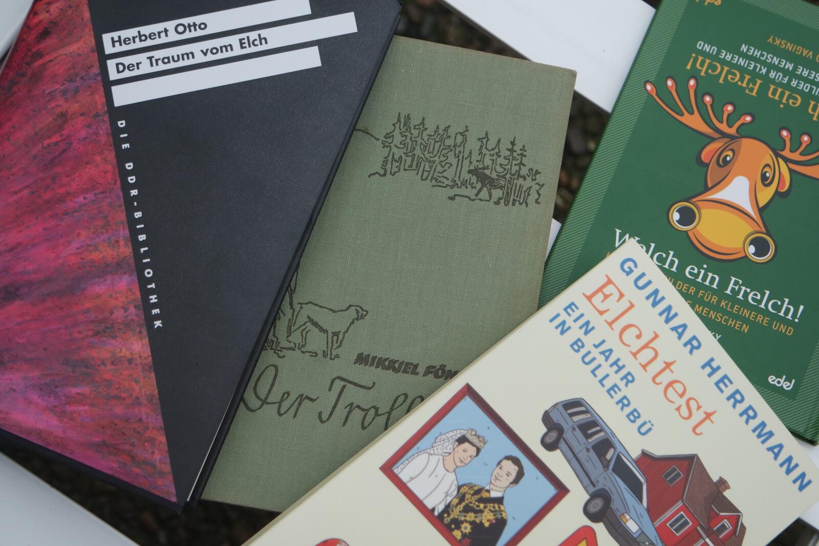 Viele tolle Bücher über Elche