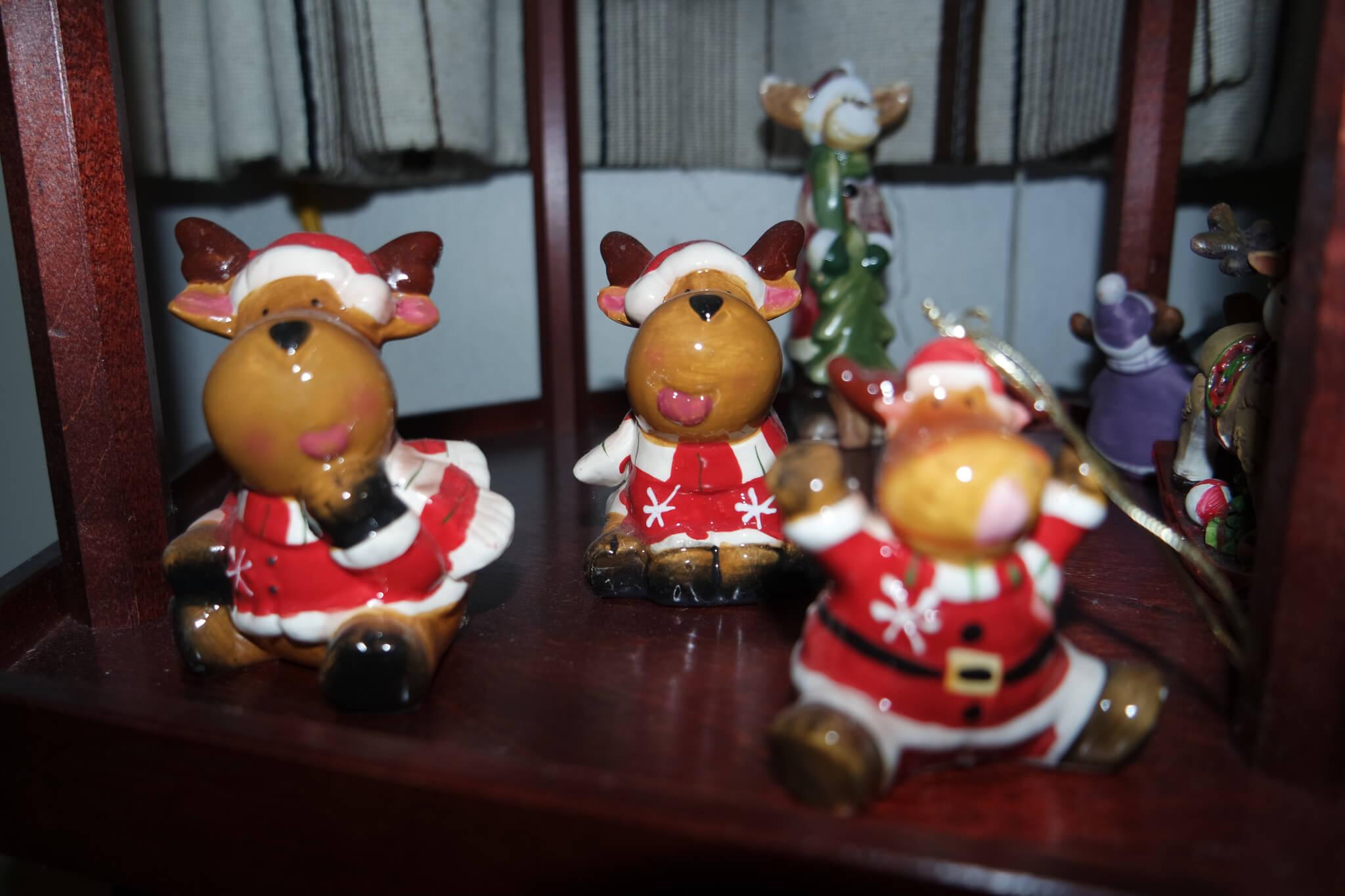 Porzellan Elchfiguren Sammlung