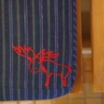 Ein Rotes Elchsymbol