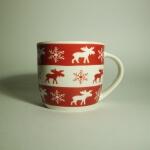 Eine Elch Tasse für die Winterzeit