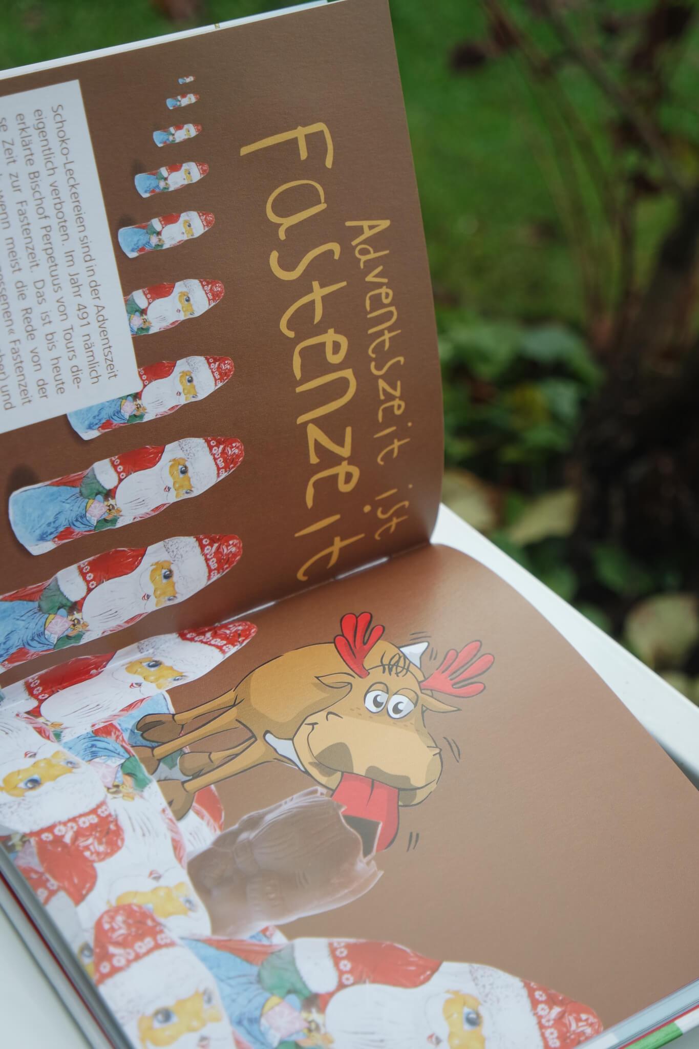 Morgen kommt der Weihnachtselch Schokolade