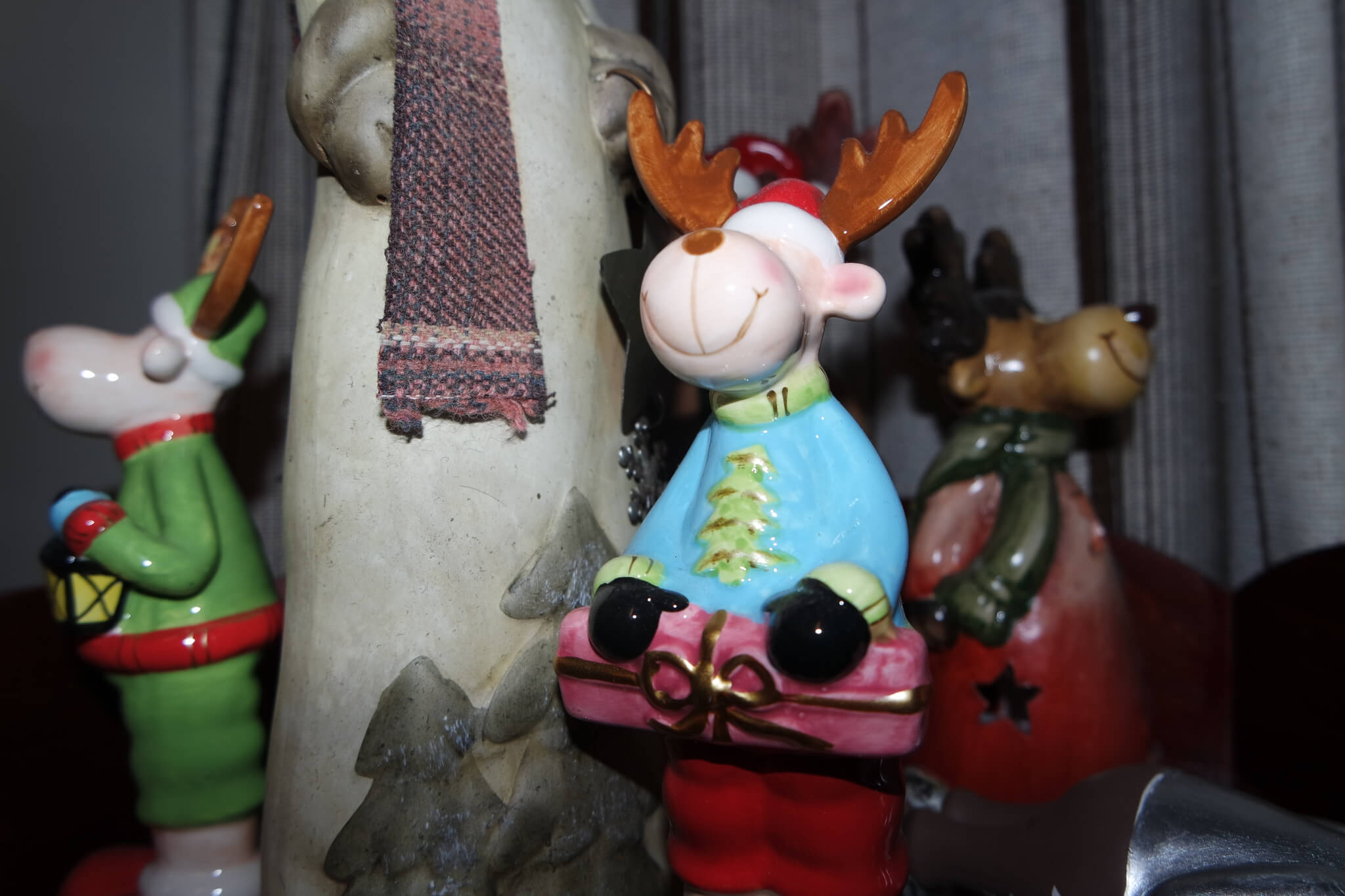 Elche für die Weihnachtszeit