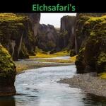 Bachlauf in Island für Elchsafari's
