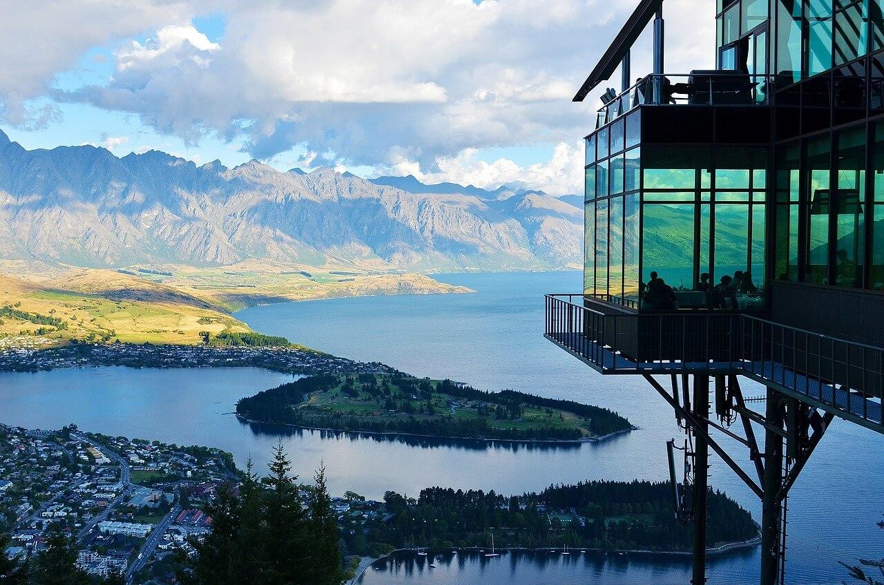 Tolle Berg Landschaft in Neuseeland